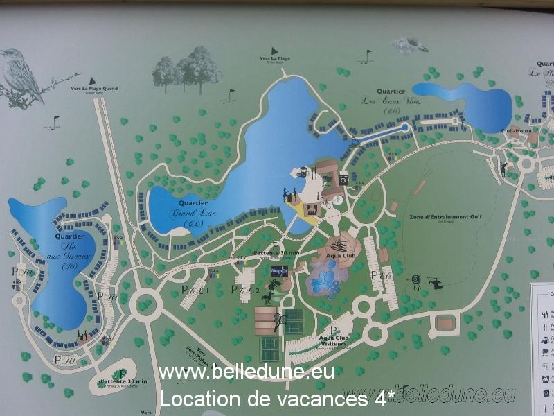 Plan de Belle Dune