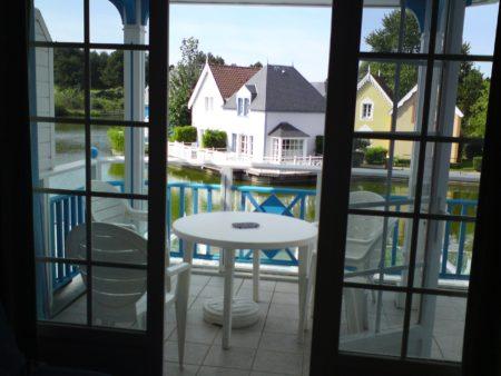 Terrasse vue de l'appartement