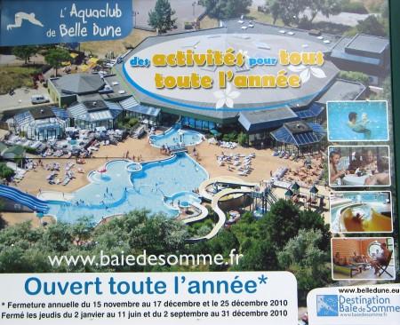 Aquaclub - Belle Dune - Baie de Somme - Fort Mahon - Quend plage